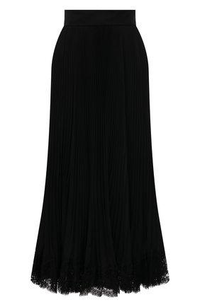 Женская юбка DOLCE & GABBANA черного цвета, арт. F4BZXT/FUSLR | Фото 1
