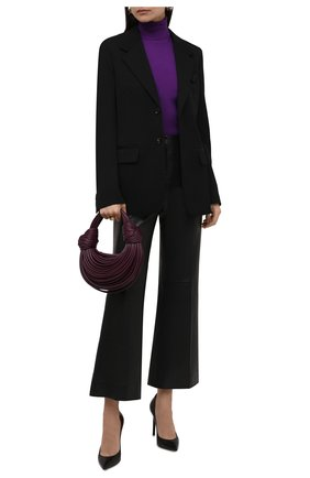 Женская водолазка из кашемира и шелка TOM FORD фиолетового цвета, арт. MAK840-YAX176 | Фото 2