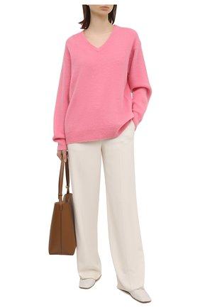 Женский кашемировый пуловер TOM FORD розового цвета, арт. MAK1049-YAX293 | Фото 2