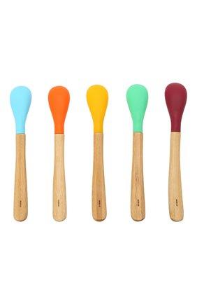 Набор из пяти ложек AVANCHY разноцветного цвета, арт. ISP5   Фото 2