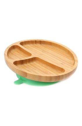 Тарелка с ложкой AVANCHY зеленого цвета, арт. GTPL   Фото 2