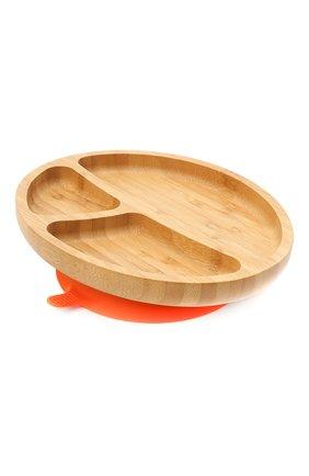 Детского тарелка с ложкой AVANCHY оранжевого цвета, арт. OTPL | Фото 2 (Кросс-КТ: Посуда)