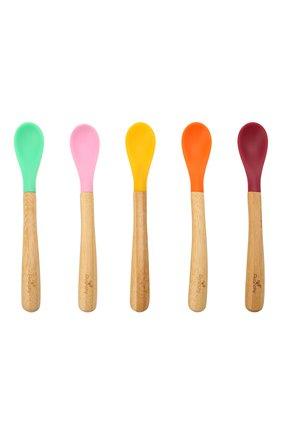 Набор из пяти ложек AVANCHY разноцветного цвета, арт. ISP5G   Фото 1