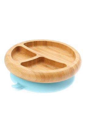 Тарелка с ложкой AVANCHY голубого цвета, арт. BBPL   Фото 2