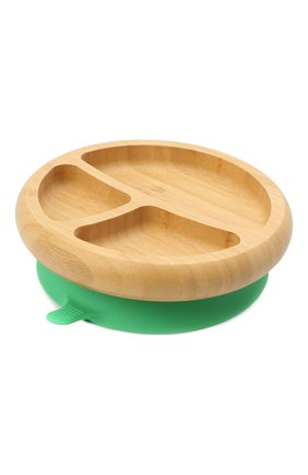 Тарелка с ложкой AVANCHY зеленого цвета, арт. GBPL   Фото 2