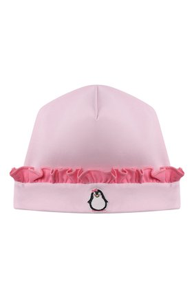 Детского хлопковая шапка MAGNOLIA BABY розового цвета, арт. 788-60-PK | Фото 1