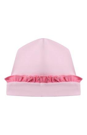 Детского хлопковая шапка MAGNOLIA BABY розового цвета, арт. 788-60-PK | Фото 2