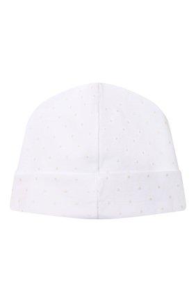 Детского хлопковая шапка MAGNOLIA BABY белого цвета, арт. E103-50-WH | Фото 2