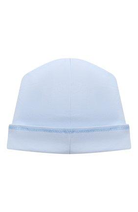 Детского хлопковая шапка MAGNOLIA BABY голубого цвета, арт. 788-50-LB | Фото 2