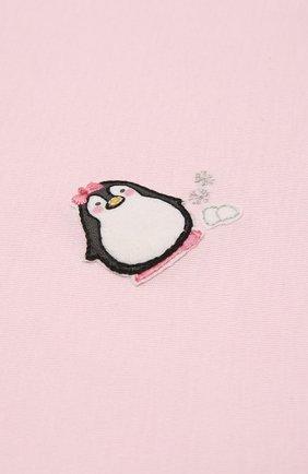 Детского хлопковая пеленка MAGNOLIA BABY розового цвета, арт. 788-62-PK | Фото 2