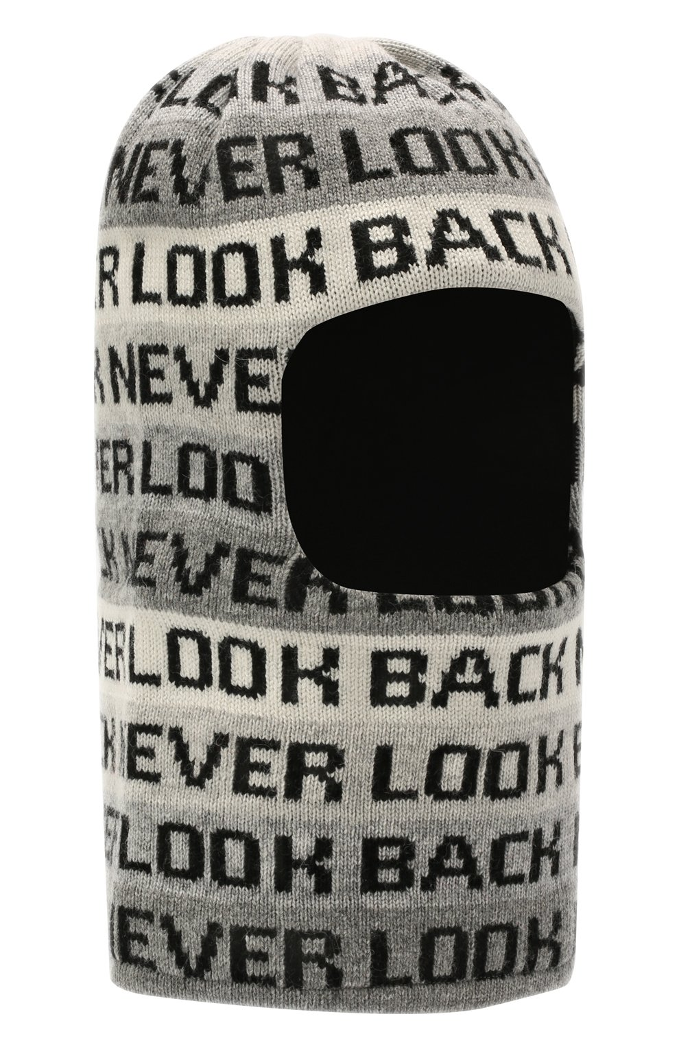 Детского шерстяная балаклава CHOBI черного цвета, арт. WH-3110 | Фото 1 (Материал: Текстиль, Шерсть, Вискоза)