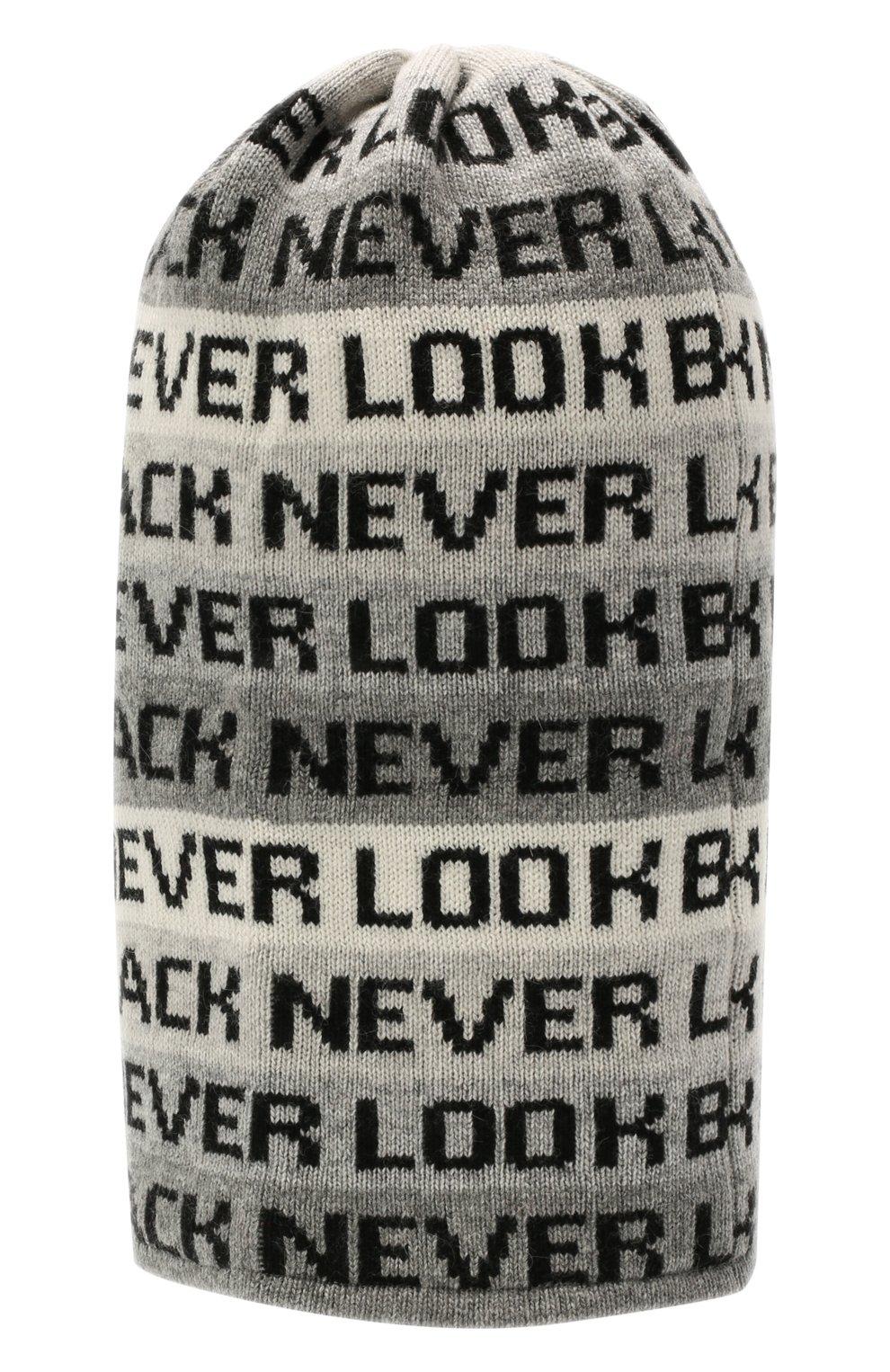 Детского шерстяная балаклава CHOBI черного цвета, арт. WH-3110 | Фото 2 (Материал: Текстиль, Шерсть, Вискоза)
