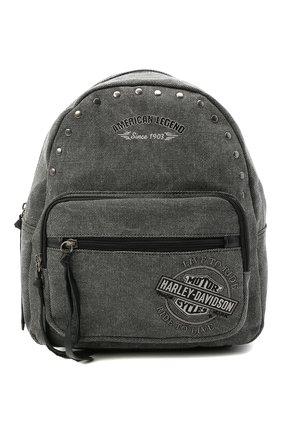 Женский рюкзак HARLEY-DAVIDSON серого цвета, арт. WDD8608-Charcoal | Фото 1