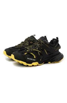 Мужские комбинированные кроссовки track BALENCIAGA черного цвета, арт. 542023/W3AC1 | Фото 1