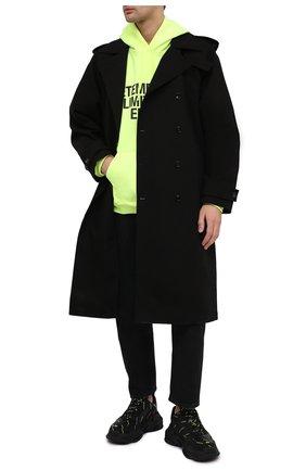 Мужские комбинированные кроссовки triple s BALENCIAGA черного цвета, арт. 536737/W2FA1 | Фото 2