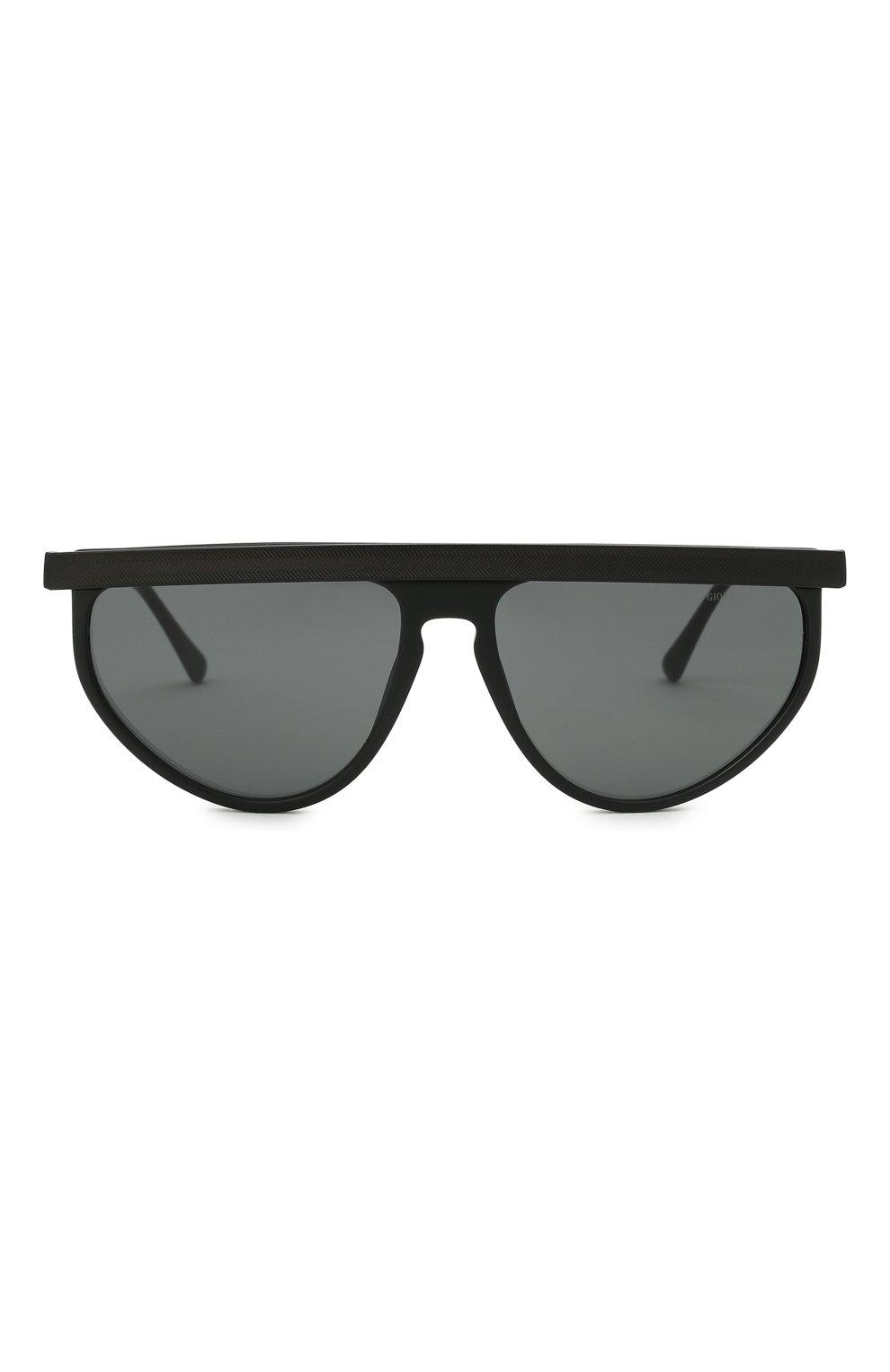 Мужские солнцезащитные очки GIORGIO ARMANI черного цвета, арт. AR6117 | Фото 3