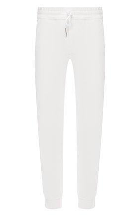 Мужские джоггеры TOM FORD белого цвета, арт. BW277/TFJ207 | Фото 1 (Кросс-КТ: Спорт; Материал внешний: Синтетический материал, Вискоза; Длина (брюки, джинсы): Стандартные; Силуэт М (брюки): Джоггеры; Стили: Спорт-шик)