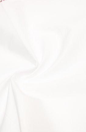 Мужской хлопковый платок BRUNELLO CUCINELLI белого цвета, арт. MQ8390091 | Фото 2