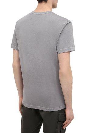 Мужская хлопковая футболка JAMES PERSE серого цвета, арт. MLJ3311 | Фото 4