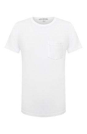 Мужская хлопковая футболка JAMES PERSE белого цвета, арт. MLJ3282 | Фото 1 (Материал внешний: Хлопок; Длина (для топов): Стандартные; Рукава: Короткие; Стили: Кэжуэл; Принт: Без принта)