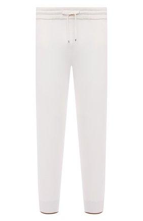 Мужские джоггеры из хлопка и кашемира GRAN SASSO белого цвета, арт. 57181/23211 | Фото 1 (Материал внешний: Хлопок; Длина (брюки, джинсы): Стандартные; Силуэт М (брюки): Джоггеры; Кросс-КТ: Спорт; Стили: Спорт-шик; Мужское Кросс-КТ: Брюки-трикотаж)