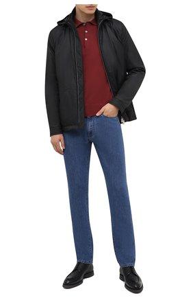 Мужская утепленная куртка CANALI черного цвета, арт. 030311/SG01949 | Фото 2 (Длина (верхняя одежда): Короткие; Материал внешний: Синтетический материал; Материал подклада: Синтетический материал; Стили: Кэжуэл; Рукава: Длинные; Кросс-КТ: Куртка; Мужское Кросс-КТ: пуховик-короткий)