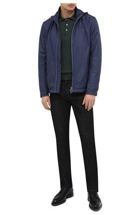 Мужские джинсы CANALI черного цвета, арт. 91722N/PY00671 | Фото 2 (Силуэт М (брюки): Прямые; Кросс-КТ: Деним; Материал внешний: Хлопок, Деним; Стили: Кэжуэл; Длина (брюки, джинсы): Стандартные)