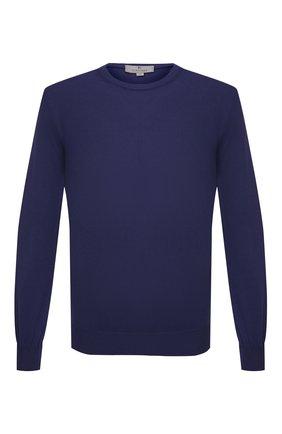 Мужской хлопковый джемпер CANALI фиолетового цвета, арт. C0012/MK00145   Фото 1