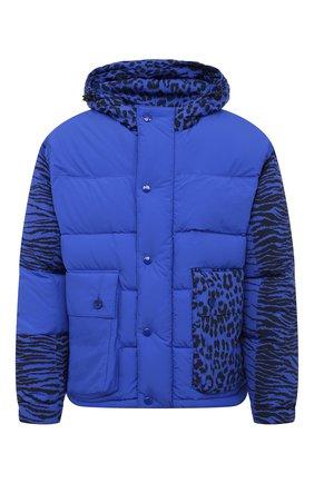 Мужская пуховая куртка kenzo x kansai yamamoto KENZO синего цвета, арт. FB550U1299KD | Фото 1
