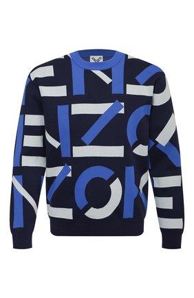 Мужской джемпер kenzo sport KENZO темно-синего цвета, арт. FB55PU5313SC | Фото 1