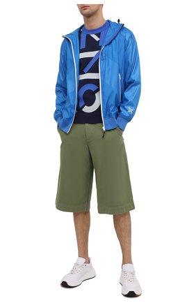 Мужской джемпер kenzo sport KENZO темно-синего цвета, арт. FB55PU5313SC | Фото 2