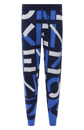 Мужские джоггеры kenzo sport KENZO синего цвета, арт. FB55PA5313SC | Фото 1