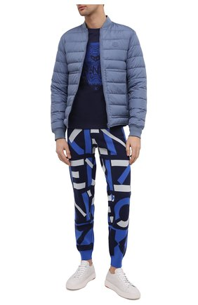 Мужские джоггеры kenzo sport KENZO синего цвета, арт. FB55PA5313SC | Фото 2