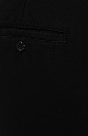 Мужские хлопковые брюки KENZO черного цвета, арт. FB55PA2555AA | Фото 5 (Длина (брюки, джинсы): Стандартные; Случай: Повседневный; Материал внешний: Хлопок; Стили: Кэжуэл)