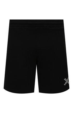 Мужские хлопковые шорты kenzo sport KENZO черного цвета, арт. FA65PA7204MS | Фото 1 (Кросс-КТ: Трикотаж; Длина Шорты М: До колена; Материал внешний: Хлопок; Стили: Спорт-шик; Принт: С принтом)