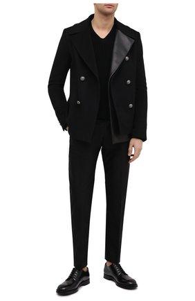 Мужской кашемировый свитер TOM FORD черного цвета, арт. BWK56/TFK300 | Фото 2