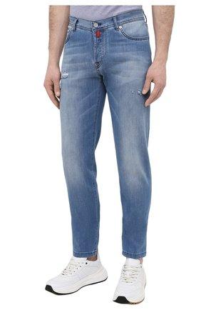 Мужские джинсы KITON голубого цвета, арт. UPNJSM/J07T27 | Фото 3