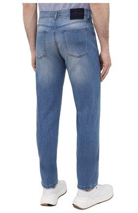 Мужские джинсы KITON голубого цвета, арт. UPNJSM/J07T27 | Фото 4