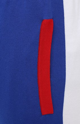 Мужские хлопковые джоггеры KITON синего цвета, арт. UK1157 | Фото 5