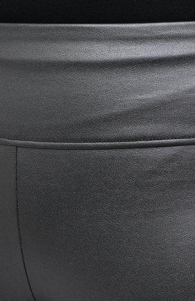 Женские леггинсы WOLFORD серого цвета, арт. 19304 | Фото 5 (Длина (брюки, джинсы): Стандартные; Материал внешний: Синтетический материал; Стили: Спорт-шик; Женское Кросс-КТ: Леггинсы-спорт)