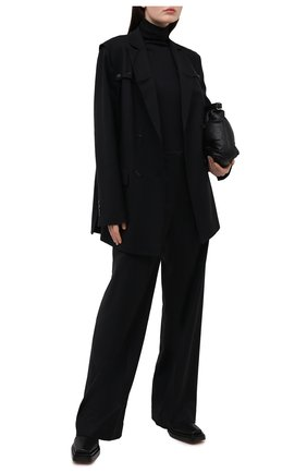 Женские шерстяные брюки RUBAN черного цвета, арт. RCSS21-7.1.41.2 | Фото 2