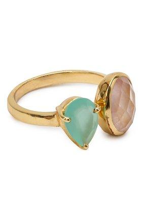 Женское кольцо EXCLAIM золотого цвета, арт. 041M2947R17   Фото 1