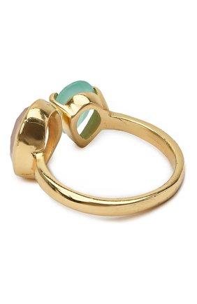 Женское кольцо EXCLAIM золотого цвета, арт. 041M2947R17   Фото 2