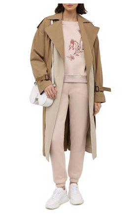 Женский костюм SEVEN LAB бежевого цвета, арт. SWPW20-dragon2 EM beige | Фото 1