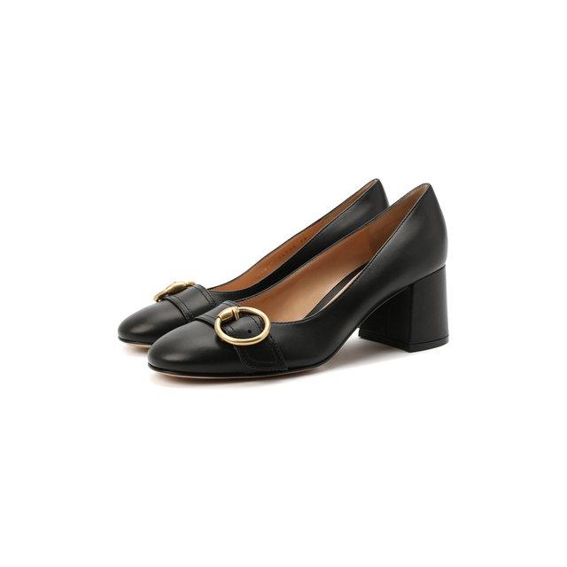 Кожаные туфли Pamela Gianvito Rossi