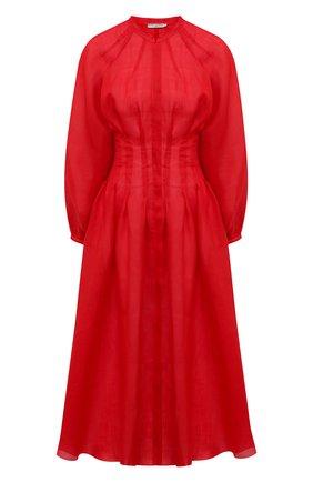 Женское хлопковое платье THREE GRACES красного цвета, арт. TGL DR6035 | Фото 1