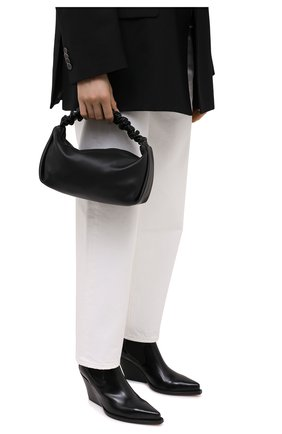 Женская сумка scrunchie small ALEXANDER WANG черного цвета, арт. 20C220R153   Фото 2