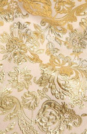 Женская палантин DOLCE & GABBANA золотого цвета, арт. FS264A/HJMLB   Фото 2