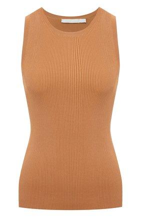 Женский топ из вискозы ZIMMERMANN светло-коричневого цвета, арт. 6329TBRG | Фото 1