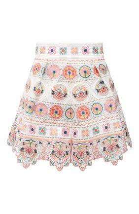Женские хлопковые шорты ZIMMERMANN разноцветного цвета, арт. 9335ABRG | Фото 1